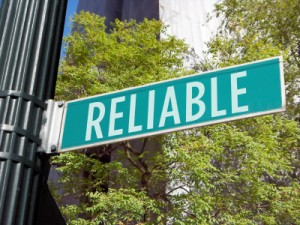 Reliable Street Sign